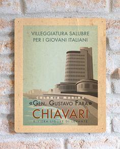Chiavari | Targa | Vimages - Immagini Originali in stile Vintage