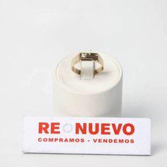 Anillo de oro de 14 kilates de segunda mano E274445C | Tienda online de segunda mano en Barcelona Re-Nuevo