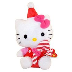 TY Beanie Baby  HELLO KITTY  RED CANDY CANE -- To view further for this item, visit the image link.Note:It is affiliate link to Amazon.