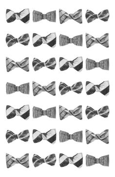 rows of bows