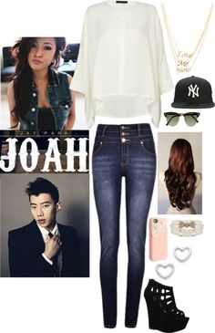 Outfit inspired by Jay Park's Joah MV. Not sure why they went with a Yankees snapback.............obviously a Sonics one would be most appropriate.... #Seattle