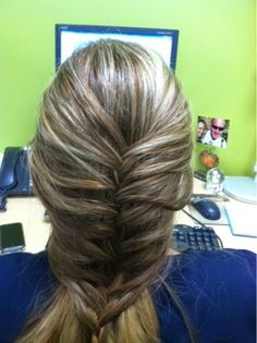 Grandma Nat's Braid Brigade : I just love doing this hairstyle (she is blessed w...