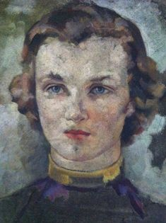 Brent's beautiful collection of painted lady oil portraits.