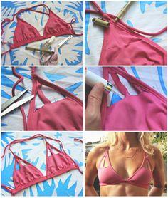 Bikini- Cut out top -DIY