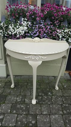 """* - is one of the Irish Handmade Decorative Mouldings available on line @ www. Decorative Mouldings, Milk Paint, Centre Pieces, Handmade Decorations, Quality Furniture, New Homes, Shabby, Touch, Facebook"