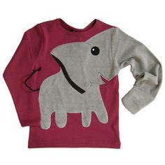 Elephant sweatshirt.