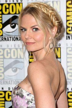 Haute Halos: Our Favorite Celebrity Braid Crowns - Jennifer Morrison