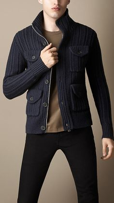 Knitted Field Jacket | Burberry