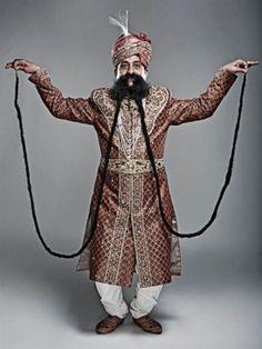 Longest Moustache Guinness World Records
