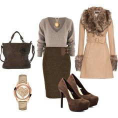 Winter Office Wear