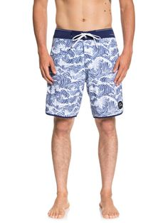 Beachwear Shorts for Men Water Sports Fashion Swim Trunks Wu-Tang-Clan-Red-White-/&-Blue
