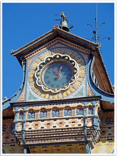 Clock Tower, Noisiel, Ile-de-France, France