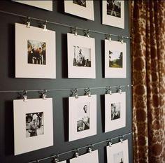 Ideas originales para mostrar fotografías
