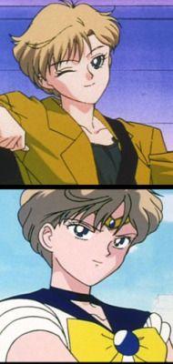 Haruka Tenoh/Amara - Sailor Uranus from Sailor Moon