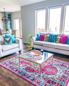 Maybe we know or not but the Living room is the most essential part of every home. Now reflects person's living style when comes time to decorate your living room. I love these colorful living room ideas where was used… Continue Reading → Living Room Decor Colors, Colourful Living Room, Interior Design Living Room, Living Room Designs, Bedroom Decor, Room Interior, Interior Colors, Livingroom Color Ideas, Bright Living Rooms