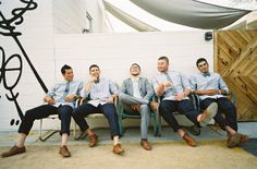 #groomsmen without socks silly boys