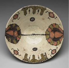 Large Bowl Persia (Iran), Nishapur or Samarkand, Uzbekistan) 10th century Minneapolis Institute of Arts