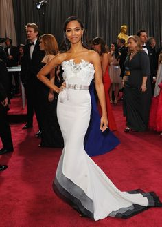 Zoe Saldana, Oscars 2013 - Oscars 2013 - Red Carpet gallery - Digital Spy