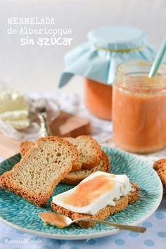 Mermelada de albaricoque sin azúcar