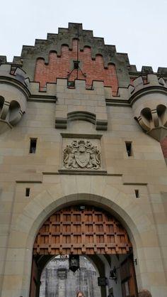 Neuschwanstein Castle, Germany. Grand Entrance