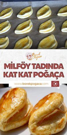 Pogaca Recipe, Pasta Cake, Snack Recipes, Snacks, Beautiful Cakes, No Bake Cake, Hot Dog Buns, Hamburger, Food And Drink