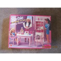 Barbie So Much To Do Dining Room