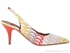 Missoni Crochet Wave Slingback Pump #shoes http://suddenlyshoes.com/missoni-crochet-wave-slingback-pump/?utm_campaign=coschedule&utm_source=pinterest&utm_medium=Crystal%20Gorham%20(Suddenly%20Shoes)&utm_content=Missoni%20Crochet%20Wave%20Slingback%20Pump