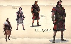 Eleazar page from FIVE: Guardians of David Art Book Fantasy Portraits, Character Portraits, Fantasy Weapons, Fantasy Rpg, Bible Stories, Great Stories, Story Drawing, Ancient Near East, Biblical Art