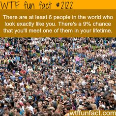 """An Awesome 9% Chance! - Twins, Triplets, Quadruplets, Quintuplets, Sextuplets, All have the look of """"DERISION""""!  -WTF fun facts"""
