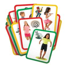 Roylco Busy Bodies Gross Motor Exercise Cards