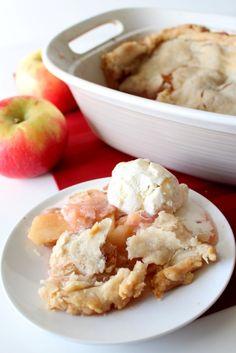 Apple Dumpling Bake. My family's favorite dessert!