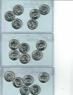 ROLL 1949 P KEY DATE Silver Roosevelt Dimes Circulated 50 Coins