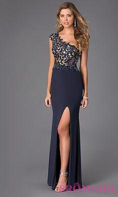 Alyce Paris One Shoulder Prom Dress AL-35712. Shop the look: http://www.promgirl.com/shop/dresses/viewitem-PD1299473