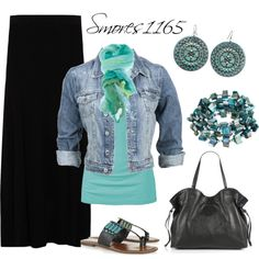 """""""Spring Skirt Style"""" by smores1165 on Polyvore"""