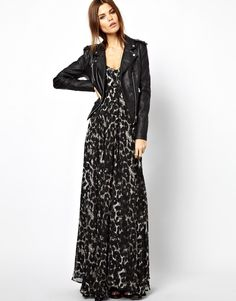 Image 4 ofReligion Olsen Dress With Leopard Print Exclusive To Asos