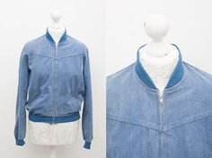 Vintage Bomber Jacket by Jonathan by CoverVintage on Etsy, $65.00