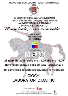 Italia Medievale: Biandrate, c'era una volta...