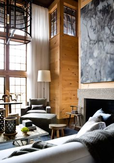 lake house living room by mcalpine tankersley