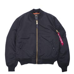 An ultimate classic, the new MA-1 VF PM Bomber Jacket from Alpha Industries.
