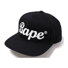 "BAPE ""City"" Snapback Cap If you a rapper or singer CLICK HERE and... ❤ liked on Polyvore featuring accessories, hats, a bathing ape, snap back hats, snapback caps, snap back cap and cap snapback"