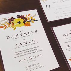 A few couples stand out every year.  Sometimes it's from their invitations that I love.  Sometimes it's because they're just a fun couple.  And sometimes it's both.  Check out my blog about Danyelle and Jim.