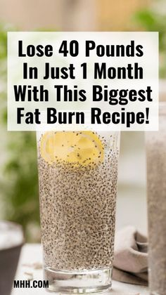 40 Pounds In Just 1 Month With This Biggest Fat Burn Recipe! Lose 40 Pounds In Just 1 Month With This Biggest Fat Burn Recipe!Lose 40 Pounds In Just 1 Month With This Biggest Fat Burn Recipe! Weight Loss Drinks, Fast Weight Loss, How To Lose Weight Fast, Losing Weight, Lose Fat, Weight Gain, Weight Loss Challenge, Fat Fast, Weight Loss Smoothies