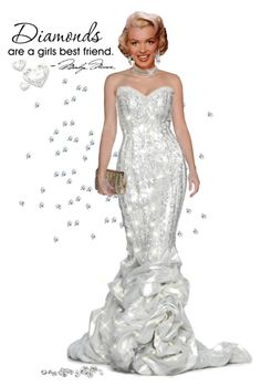 Diamonds are a girl's best friend... by smylin on Polyvore featuring polyvore arte