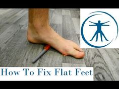 Easy Exercise for Foot, Arch and Leg Pain from Fallen Arches, Flat Feet, Pronation - YouTube