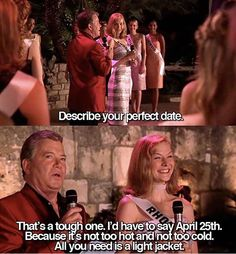 Miss congeniality movie quote April 23