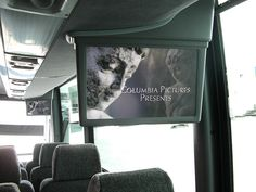 Watch a movie!  15-17 inch monitors.