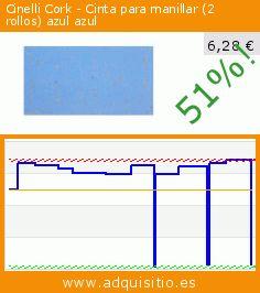 Cinelli Cork - Cinta para manillar (2 rollos) azul azul (Deportes). Baja 51%! Precio actual 6,28 €, el precio anterior fue de 12,82 €. https://www.adquisitio.es/cinelli/cork-bar-manillar-corcho-0