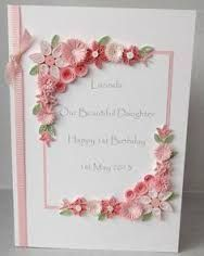 Image result for handmade birthday card ideas by paper quilling paper