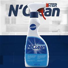 NClean Bor Katkılı Mikrofiber Sprey Temizleyici Spray Bottle, Water Bottle, Cleaning Supplies, Bubbles, Soap, Bathroom, Quotes, Washroom, Quotations