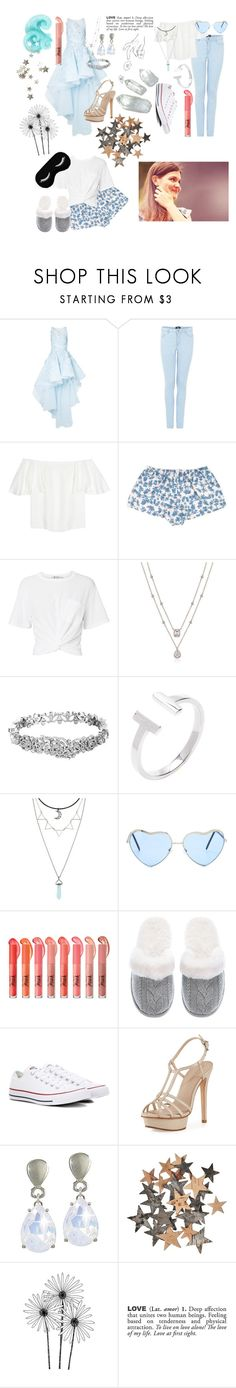 """""""Eliza Schuyler Hamilton"""" by xxstar-childxx ❤ liked on Polyvore featuring Mikael D, Valentino, LoveStories, T By Alexander Wang, Kate Spade, Victoria's Secret, Converse, Pelle Moda and ADZif"""
